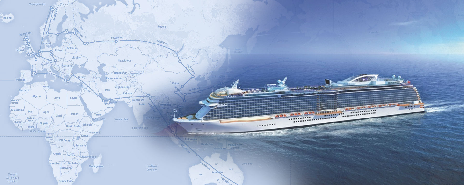 World Tour on a Cruise